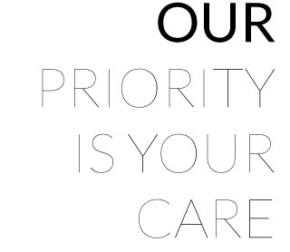 Our Priority Is Your Care Banner