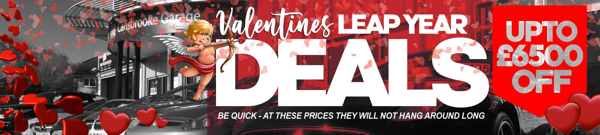 Valentine Leap Year Used Car Deals On The Isle Of Wight - Sixers Group