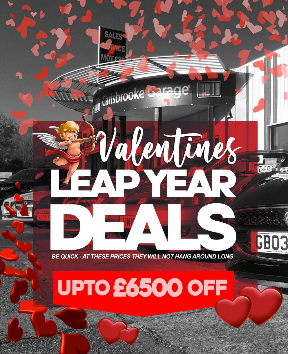 Used Cars for Sale Isle of Wight Valentine Leap Year Deals - Sixers Group Tablet